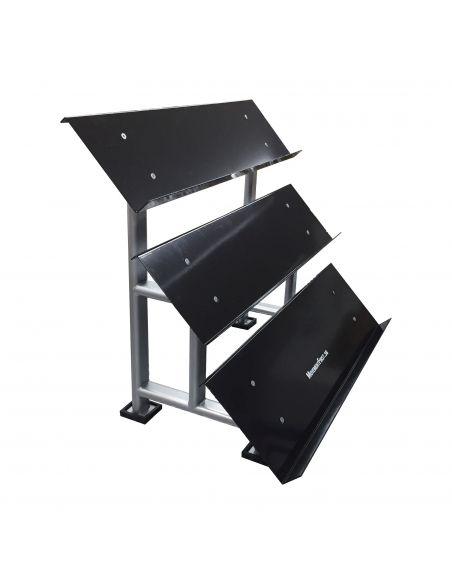 Commercial 3 Tier Hexhead Dumbbell Rack (20 pc)