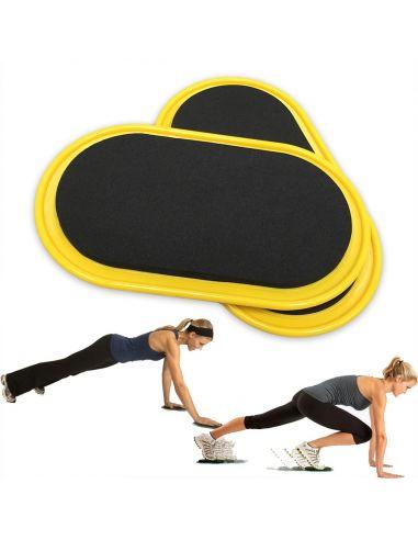 Flexibility Floor Sliders (Pair)
