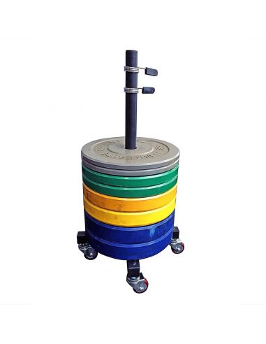 Mobile Weight Plate Stacker