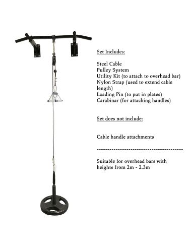 MF Cable Pulley System (Tricep/Lat...