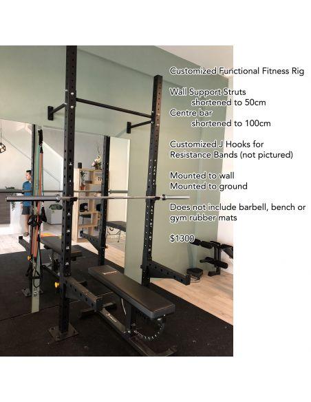 Custom Functional Fitness Rig