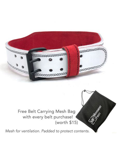 Genuine Leather Weight Lifting Belt