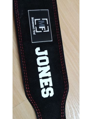 Leather Belt Customization