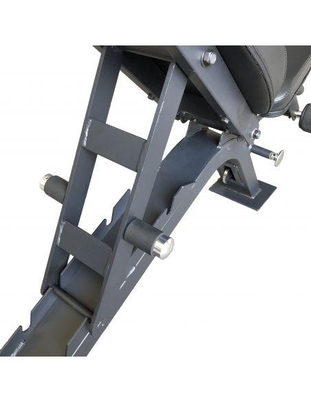 MF Commercial Single Leg Adjustable Bench