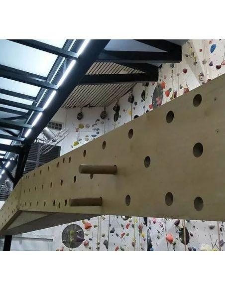 Climbing Peg Board (2.4 x 0.3m)