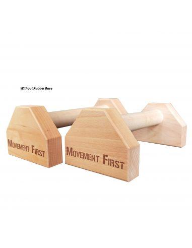 Mini Wood Parallettes