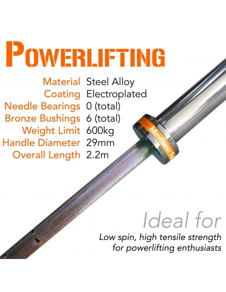 Powerlifting Barbell